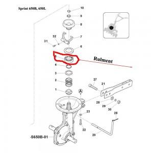 Rulment con frictiune Sprint 650B, 650L, 550H, Farm 450