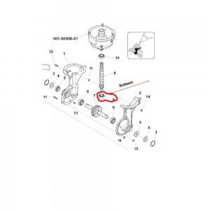 Rulment inferior ax melcat Sprint 650B, 650L,  550H, Farm 450